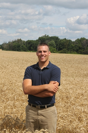 Third-generation egg farmer Jacob Pelissero is proud to continue the family farm tradition.
